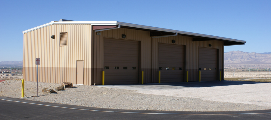 Clark County Shooting Complex: Utility Building
